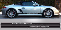 Porsche Boxster Spyder 3inch triple stripe decal