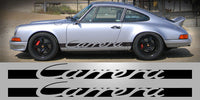 Porsche 911 Carrera Side Decal Graphic