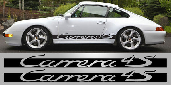 Porsche 911 4S side script decals