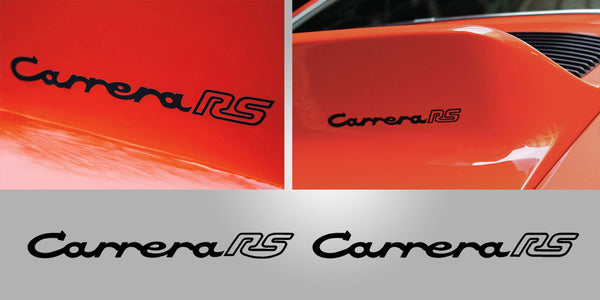 911 Carrera RS ducktail decal