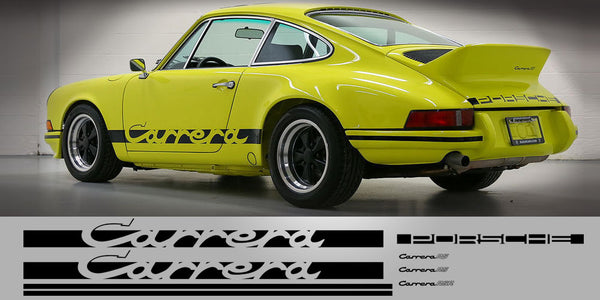 Porsche Carrera 2.7 RS Full Decal Set Package