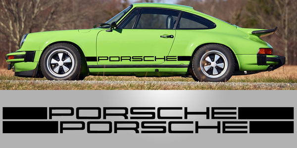 Porsche IROC RSR Side Decal Graphic