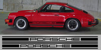 "Classic Porsche 911 4.5"" Side Stripes"