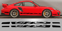 Porsche 997 GT2 RS Side Script Vinyl Decal set