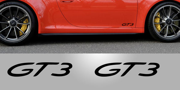 Porsche GT3 Door Decals