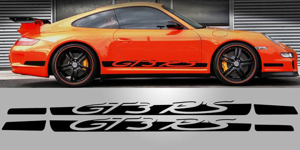 Porsche 997 GT3 RS Side Vinyl Decal Graphic