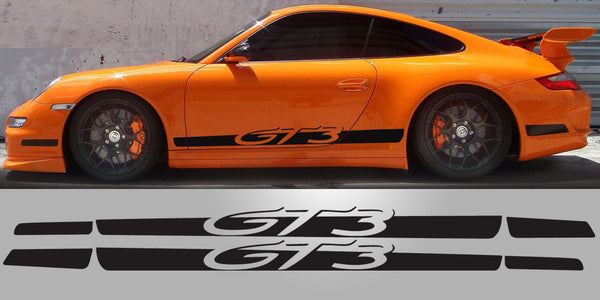 Porsche 997 GT3 Tapered Side decals
