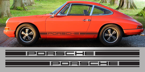Porsche Singer Vinyl Decal Graphic Livery