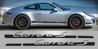 Porsche 991 Carrera S Tapered Side Vinyl Decals
