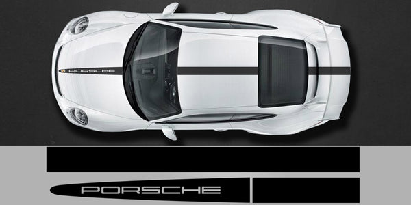 Porsche Tech Equipment Center Stripe Decal