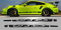 Porsche 991 GT3 RS Full sside decal package graphic