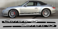 Porsche 911 Carrera 4S Vinyl Side Decals