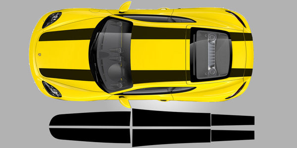 911R Style Stripes for Cayman 981