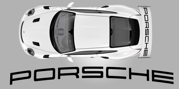 GT3 RS Weissach Package Wing Decal