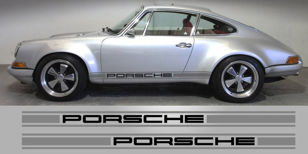 Singer Porsche Triple Stripe Decals