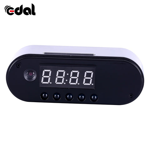 Alarm Clock With Hidden HD Camera WiFi Connected