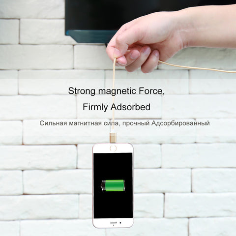 High Speed Magnetic Phone Charging Cables (Android & iPhone)