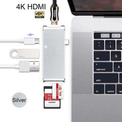 Thunderbolt 3 USB-C & HDMI Hub For Macbook Pro