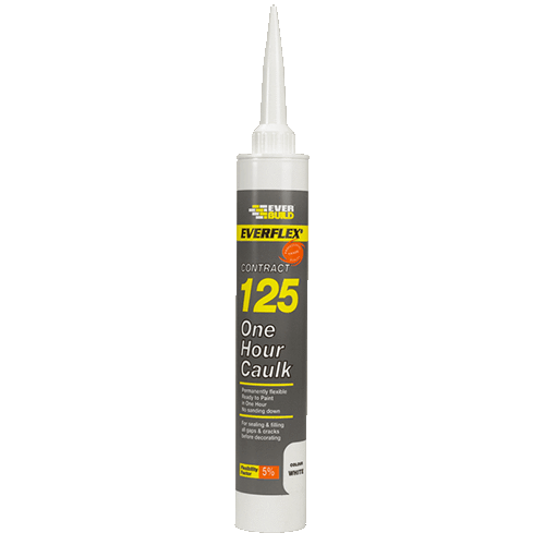 Everflex 125 ONE HOUR CAULK (Box of 25)