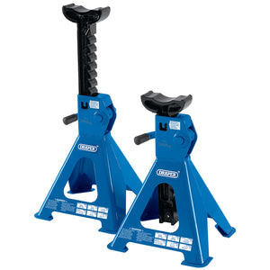 Draper 2 TONNE RATCHETING AXLE STANDS (PAIR)