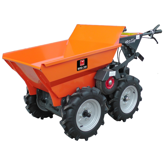 Belle Pedestrian motorised 4- wheel drive MiniDumper
