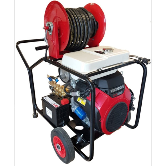 Honda COMET 630 HT Maxflow Drain Jetter (WITH REEL) Petrol Pressure Washer