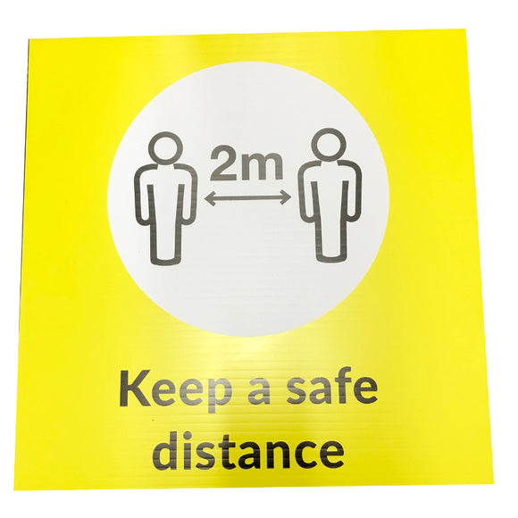 Covid-19 'Safe Distance' SIGN