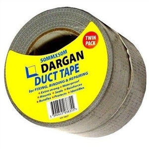 Dargan 100m Duct Tape (Twin Pack)