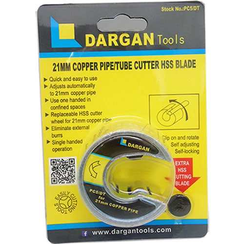 Dargan 21mm Copper Pipe Slicer