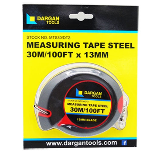 Dargan 30m Steel Measuring Tape