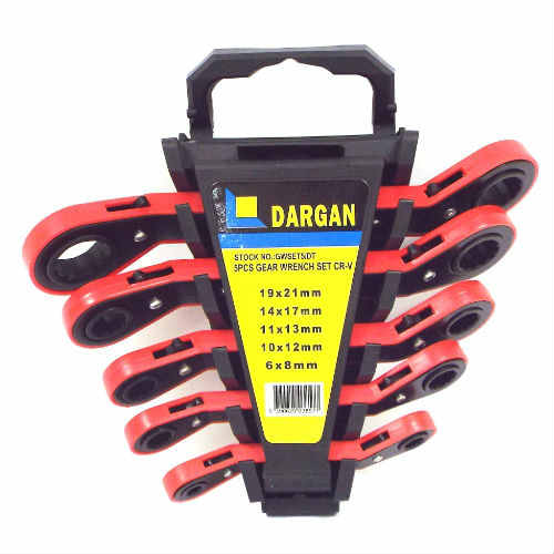Dargan 5pce Gear Wrench Set