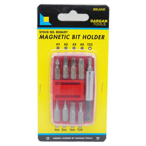 Dargan 6pce Bit Set & Holder