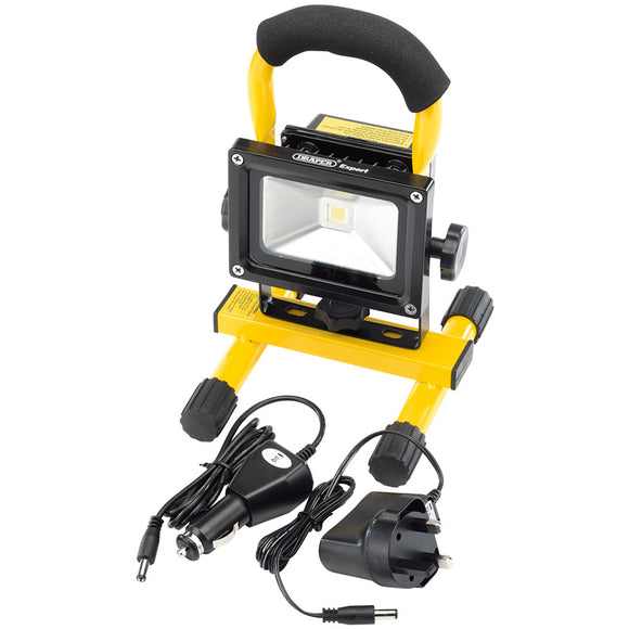 Draper 10W COB LED Rechargeable Worklight (800 Lumen)