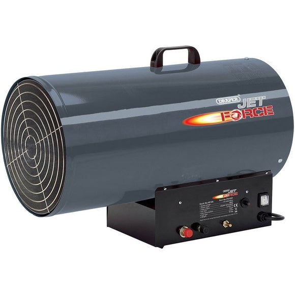 Draper Jet Force, 110/230V Propane Space Heater 235,000 BTU (69KW)