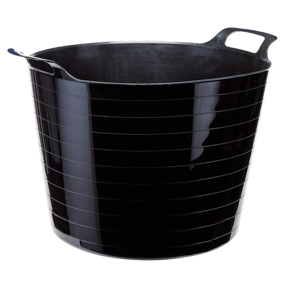 Draper Multi Purpose Flexible Bucket - Black (40L)