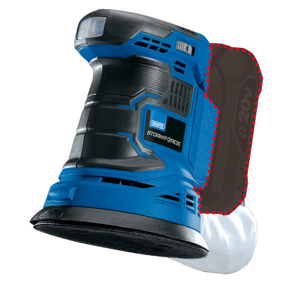 DRAPER STORM FORCE® 20V RANDOM ORBIT SANDER - BARE
