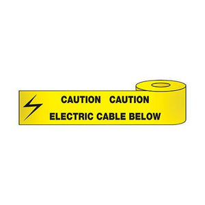 Electric Cable Below Tape