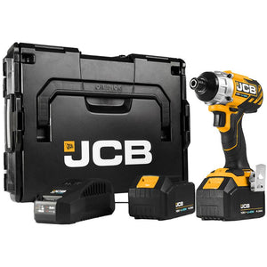 JCB 18V Brushless Impact Driver 2 X 4.0Ah Kit
