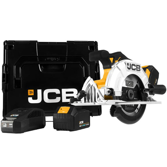 JCB 18V Circular Saw 2 X 5.0Ah Battery Kit
