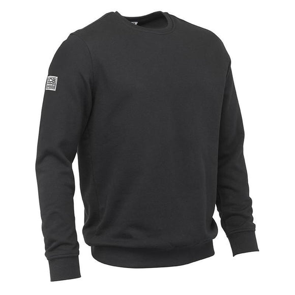 JCB BASIC SWEATSHIRT BLACK