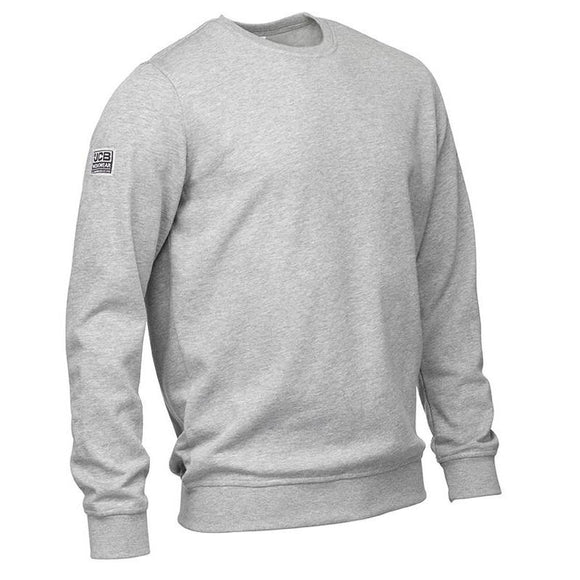JCB BASIC SWEATSHIRT GREY