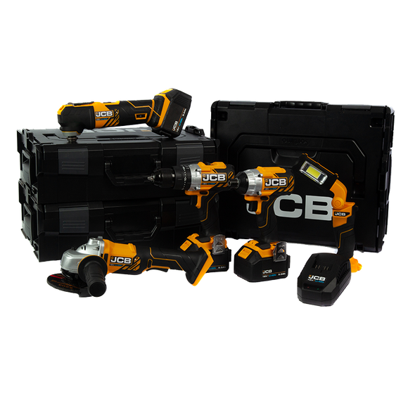 JCB 18v 5 Piece Multi Kit 3