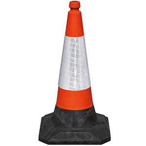 JSP 750mm Roadhog Plastic Road Cones