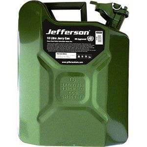 Jefferson 10 Litre Green Jerry Can