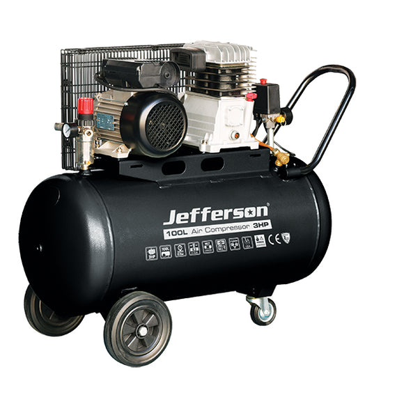 Jefferson 100 Litre 3HP Compressor