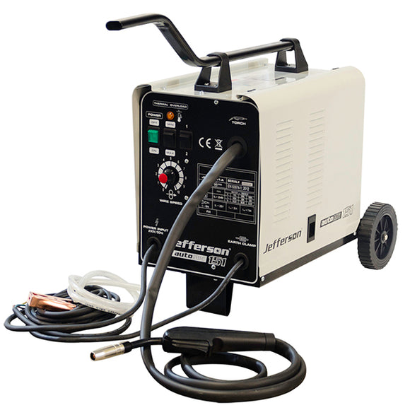 Jefferson 151 Amp 230V Gas/No Gas MIG Welder