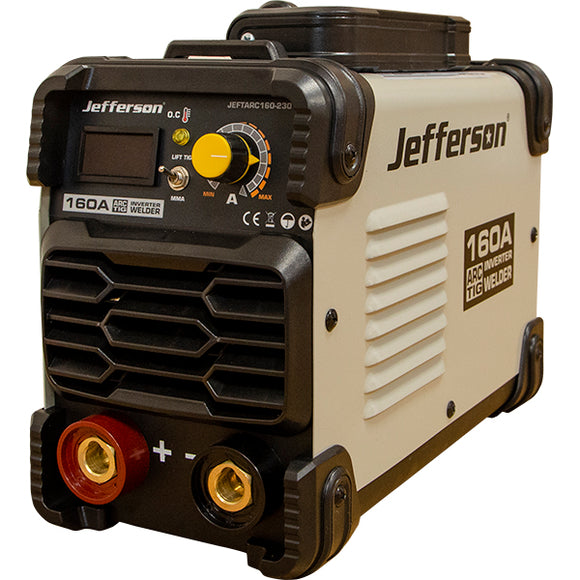Jefferson 160A Arc Tig Inverter Welder