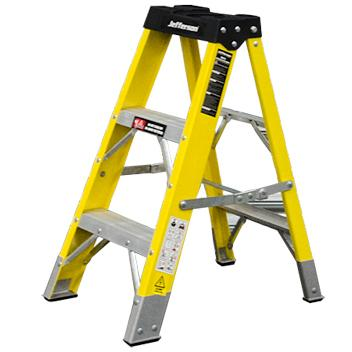 Jefferson 2+1 Tread Fibreglass Step Ladder