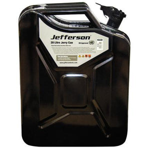 Jefferson 20 Litre Black Jerry Can
