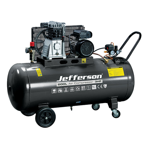 Jefferson 200 Litre 3HP Compressor